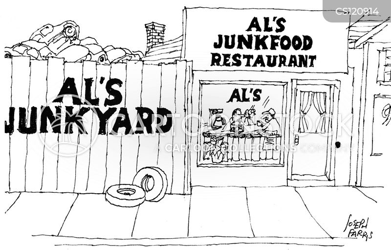Junk Yards cartoons, Junk Yards cartoon, funny, Junk Yards picture, Junk Yards pictures, Junk Yards image, Junk Yards images, Junk Yards illustration, Junk Yards illustrations