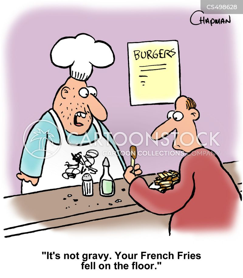 unhygienic condition cartoon