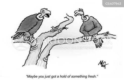 rotten food cartoon