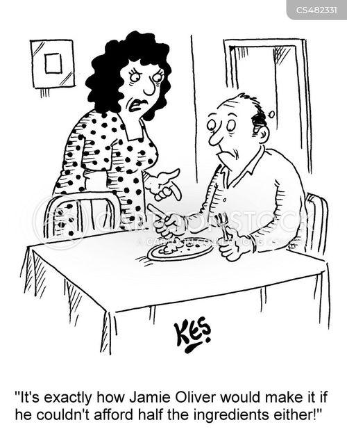 food poverty cartoon