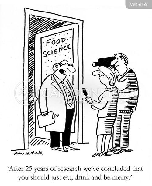 food research cartoon