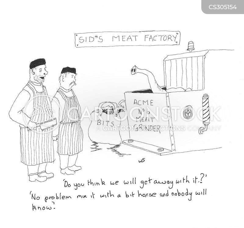 meat productions cartoon