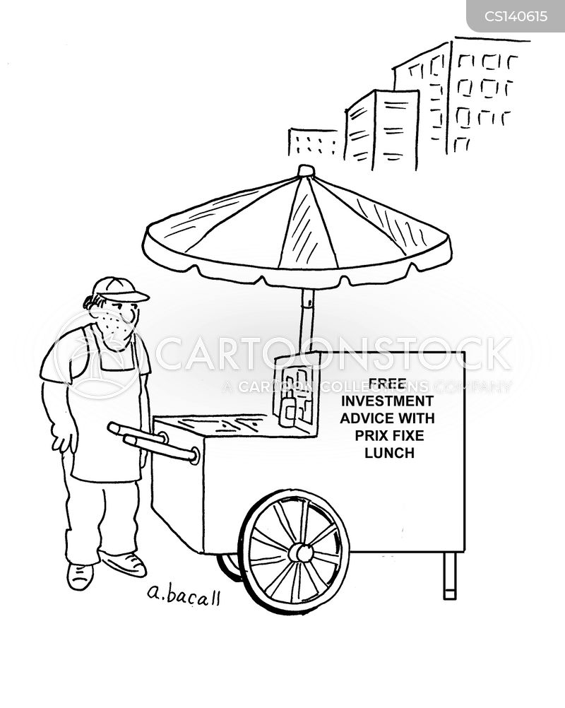 Food Stand Cartoons and Comics - funny pictures from CartoonStock