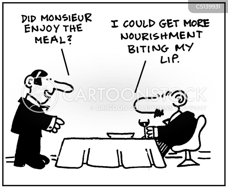 nourishment cartoon