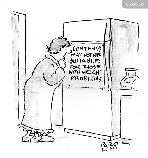 weight conscious cartoon