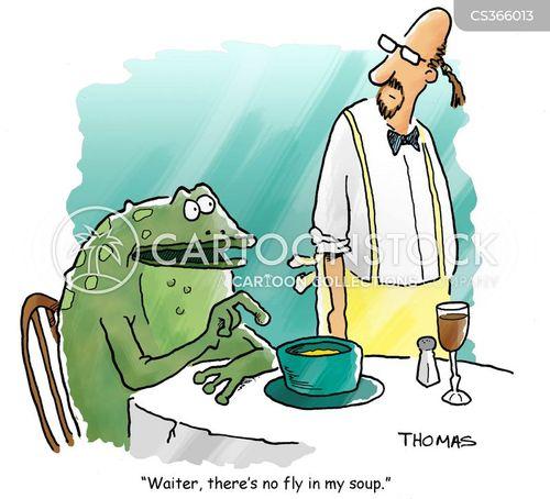 frog food cartoon