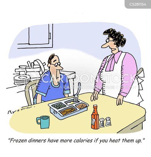 reheating cartoon
