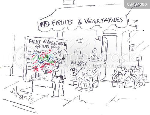 5-a-day cartoon