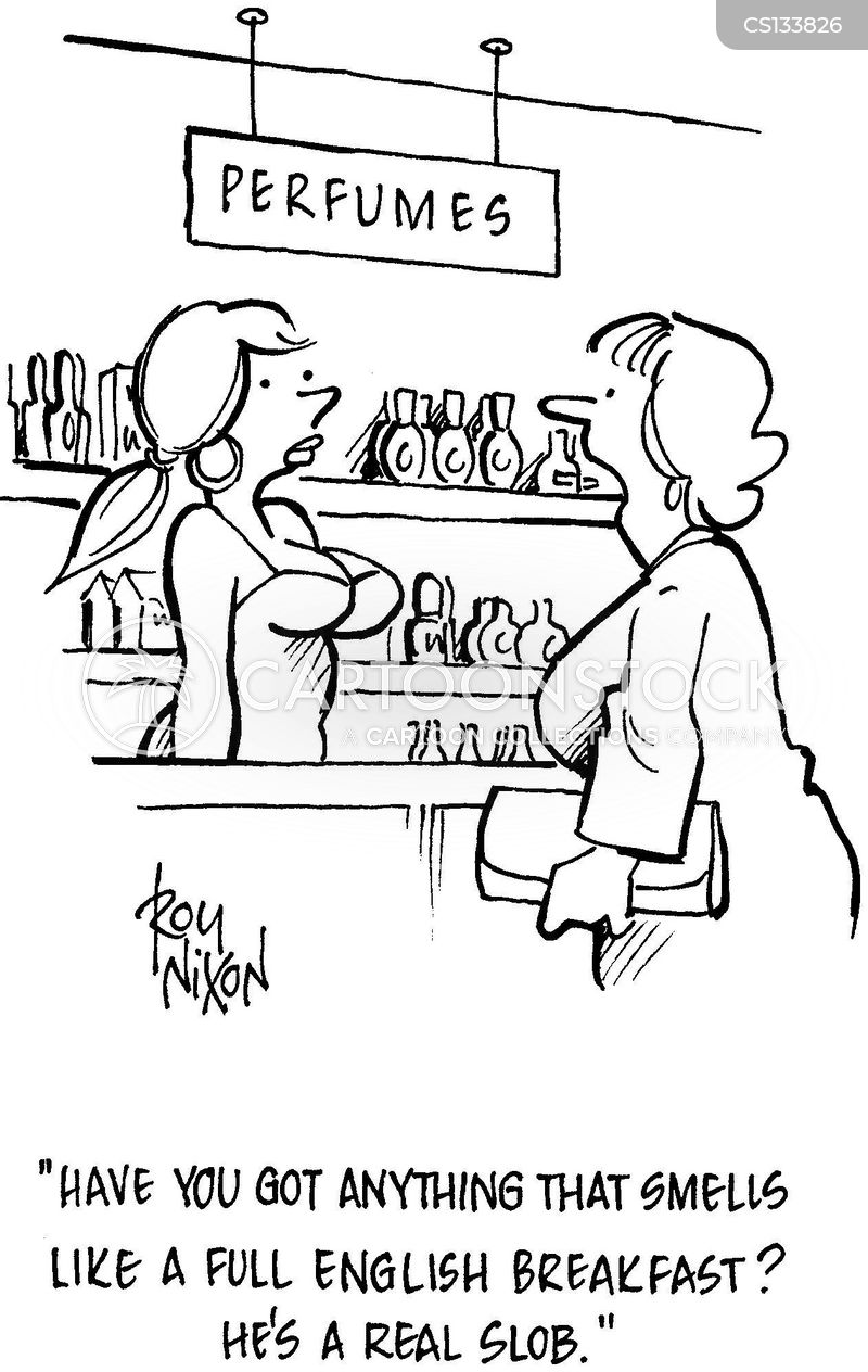 perfumer cartoon