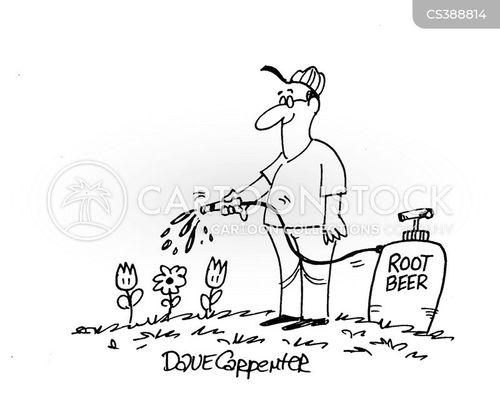 root beers cartoon