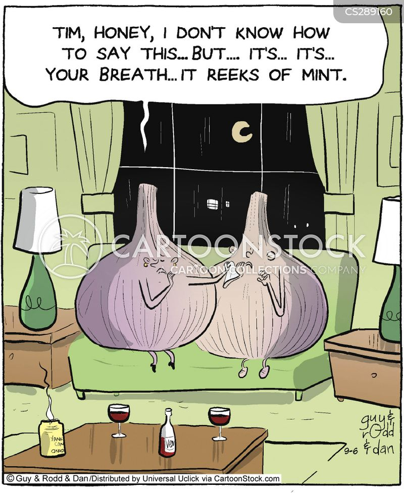 garlic cartoon