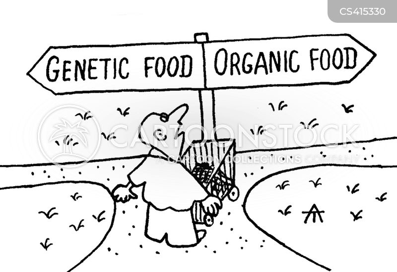 Genetic Food Cartoons and Comics - funny pictures from CartoonStock