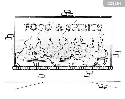 luncheon cartoon
