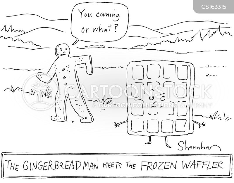 frozen waffles cartoon