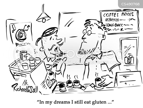 celiac cartoon