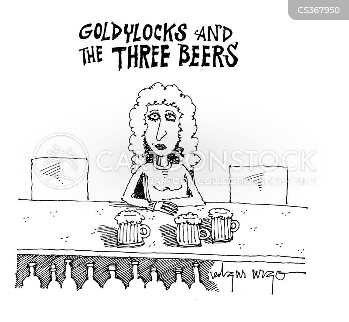goldilocks and the 3 bears cartoon