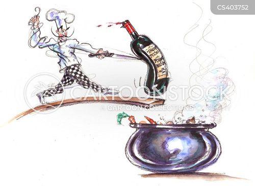 cooking pots cartoon