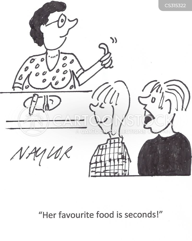 second helping cartoon