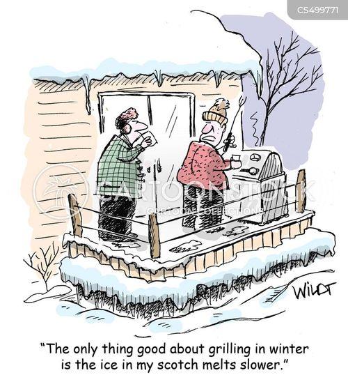 outdoor cooking cartoon