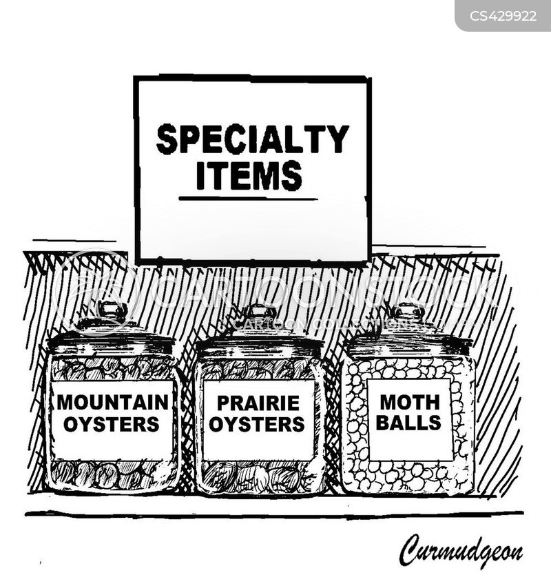 oysters cartoon
