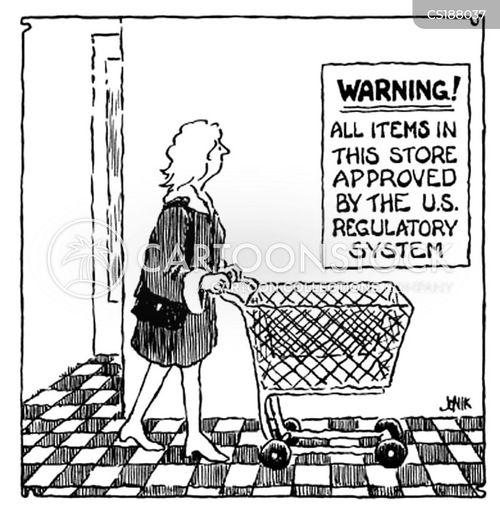 food regulation cartoon