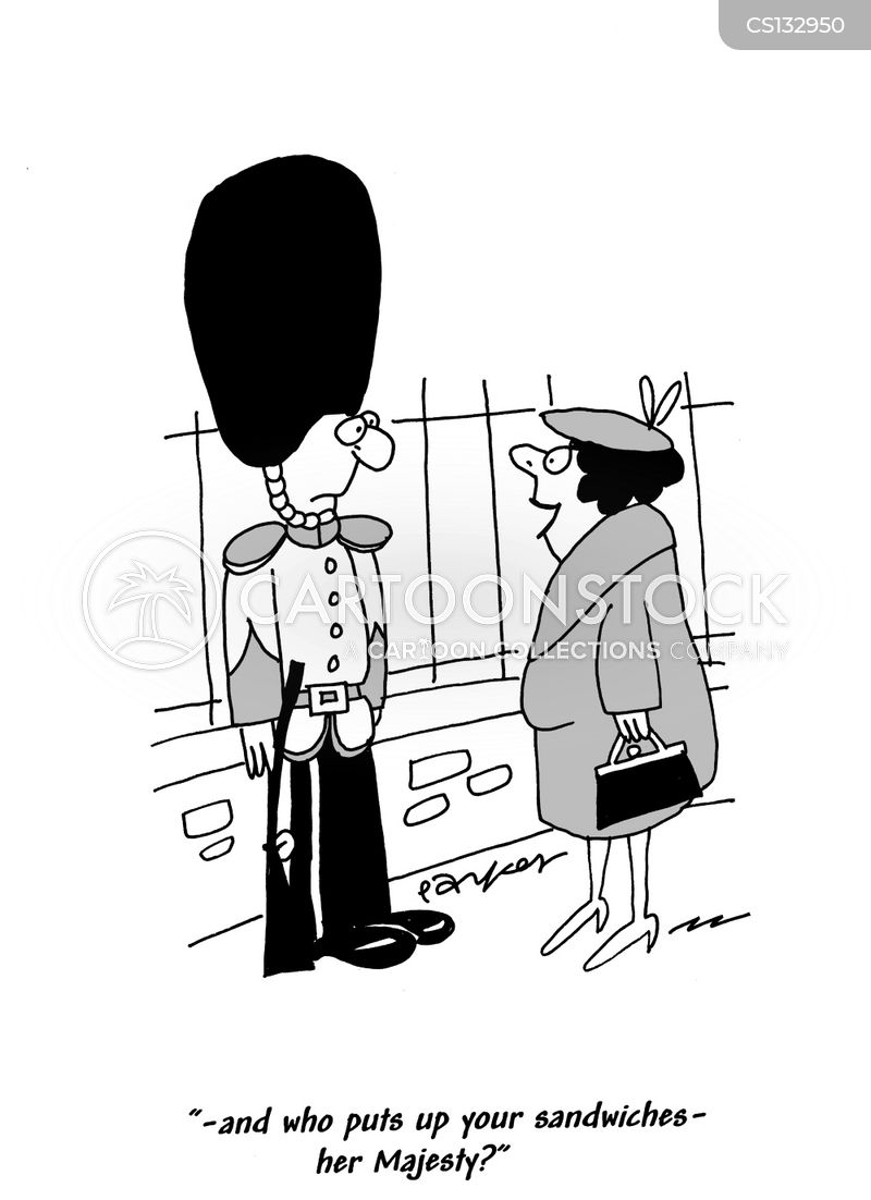 armed guard cartoon