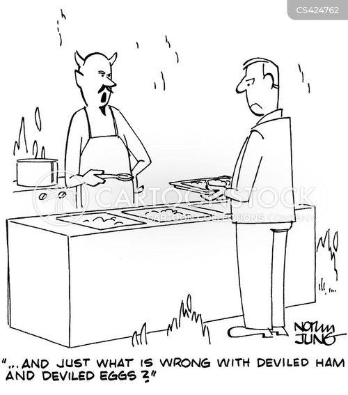 deviled ham cartoon