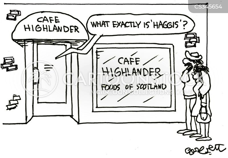 highlanders cartoon