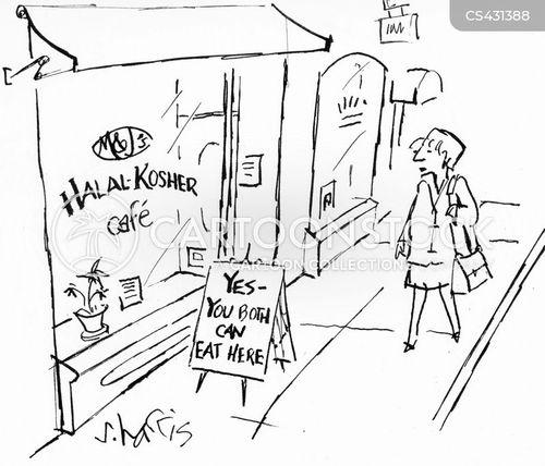 multi-cultural cartoon