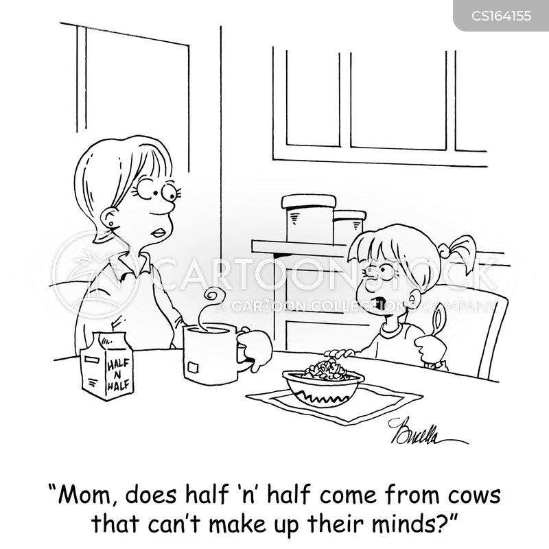 milk product cartoon