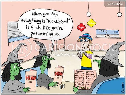 wickedness cartoon
