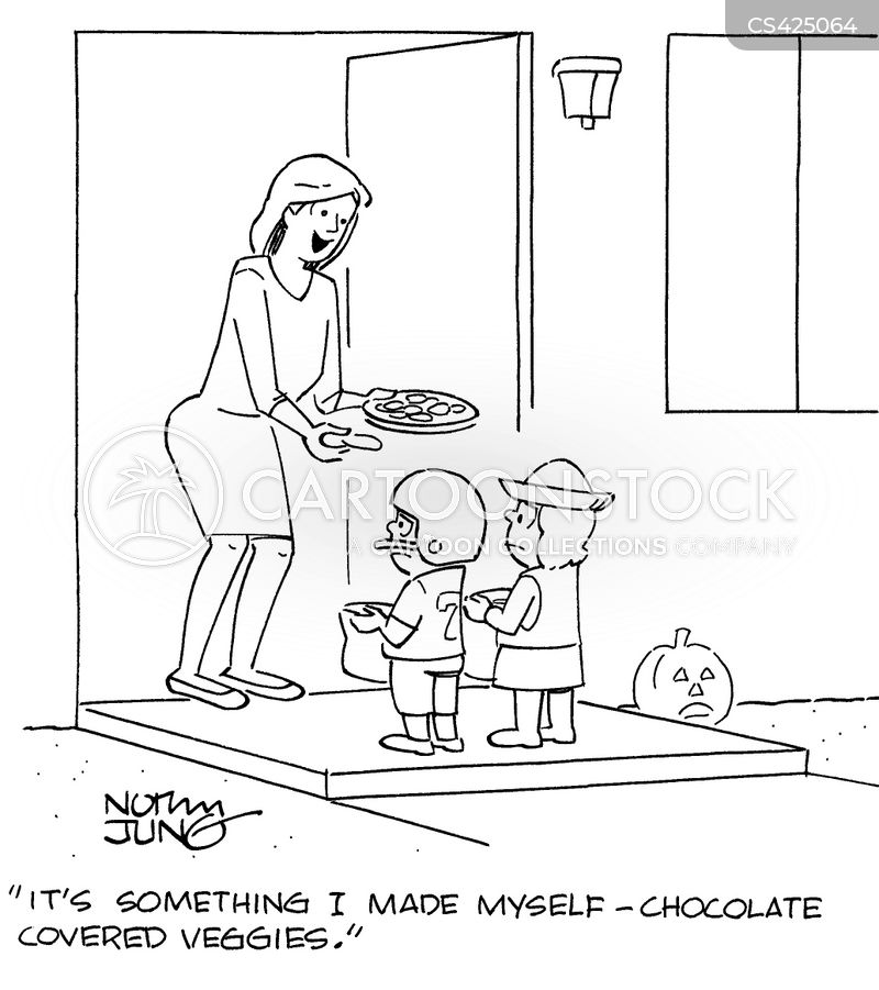 healthy snack cartoon 4 of 6