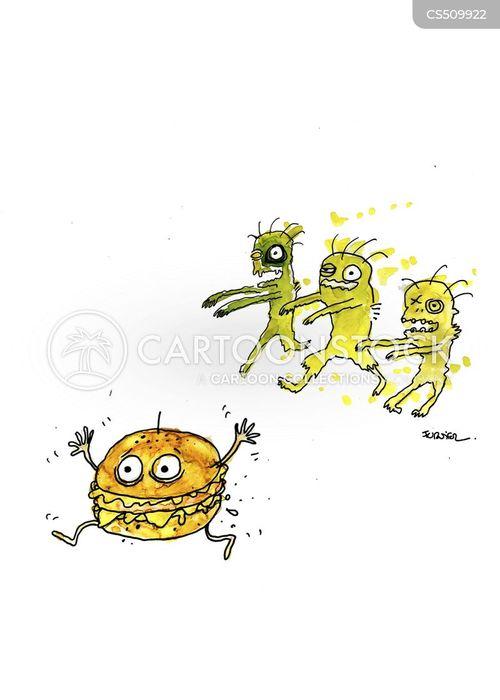 cheese burgers cartoon