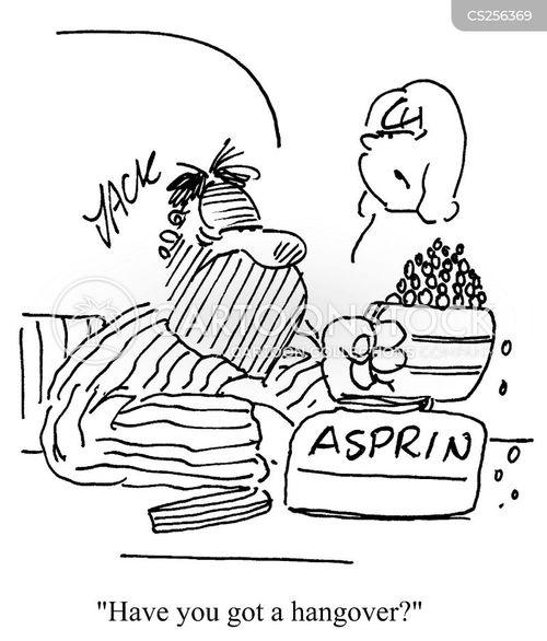 aspirins cartoon