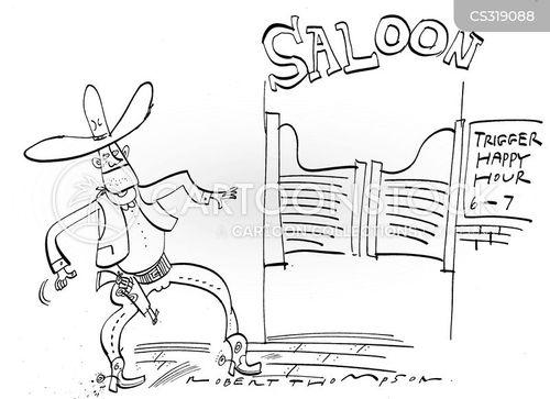 gun slingers cartoon