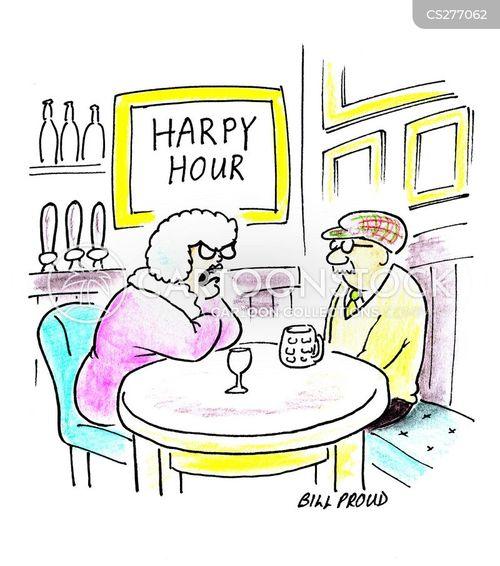 harpies cartoon