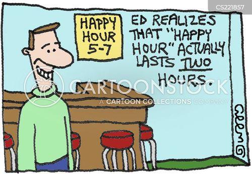 cheap drink cartoon
