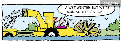 harvesting cartoon