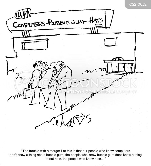 business problem cartoon