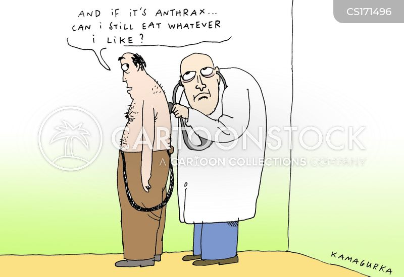 Image result for ANTHRAX ATTACKS CARTOON