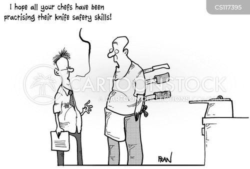 workplace safety cartoon