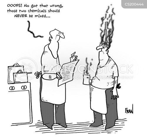 safety regulations cartoon