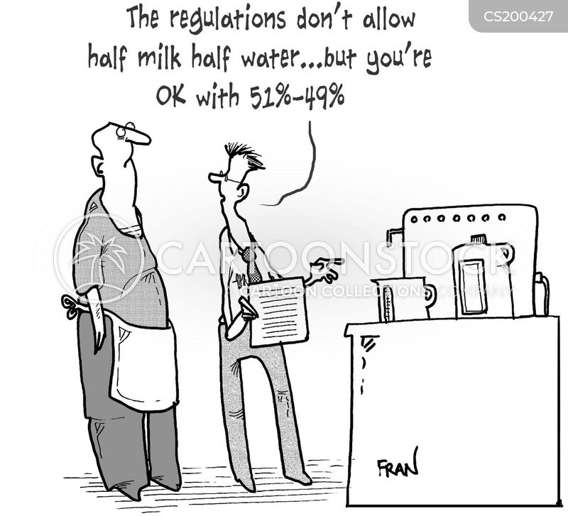 food standards cartoon