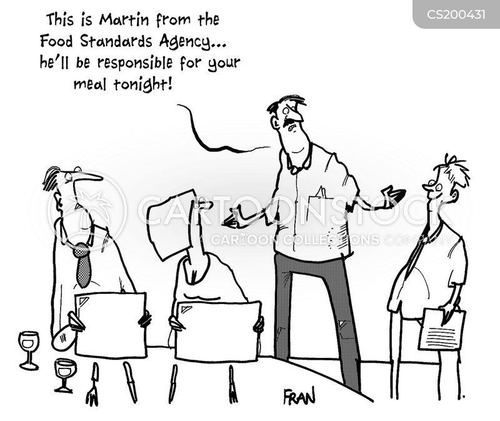health inspector cartoon