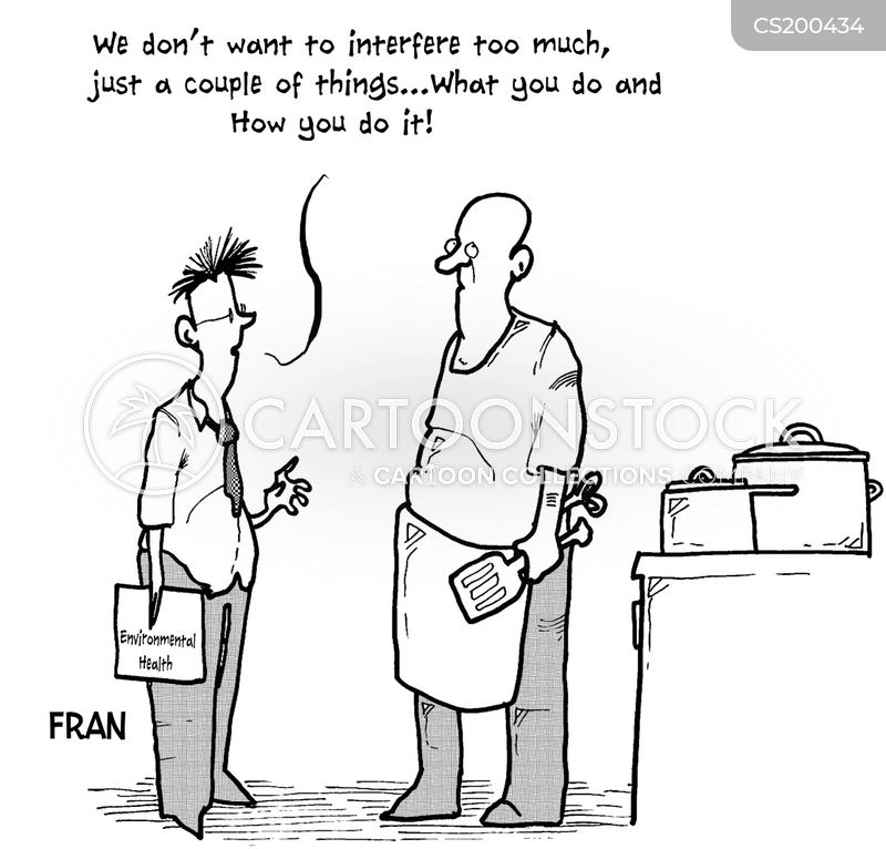 health inspectors cartoon