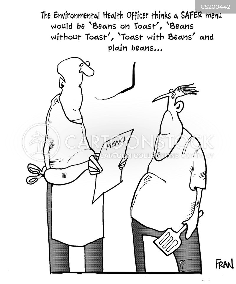 Restaurant Inspections Cartoons And Comics
