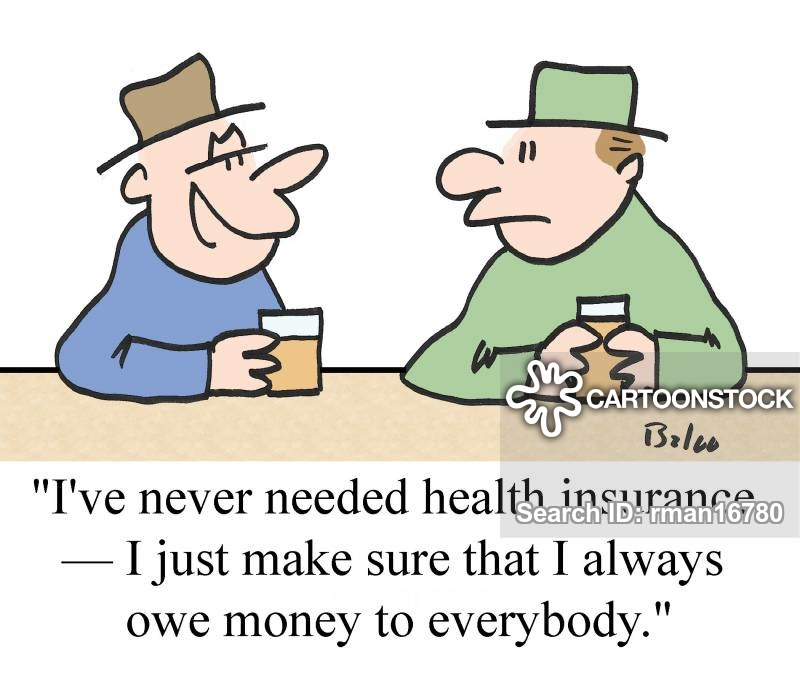 owe money cartoon