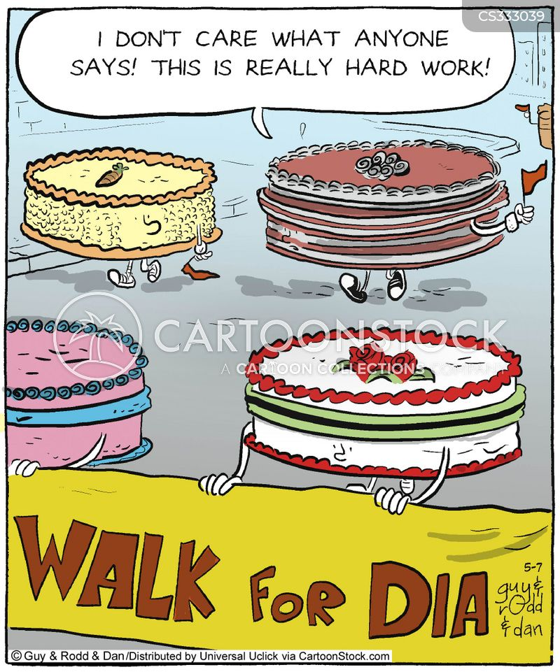 type 2 diabetes cartoon
