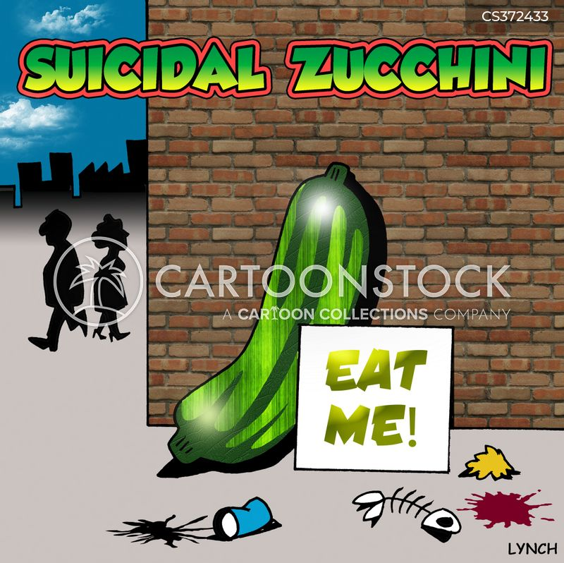 zucchini cartoon