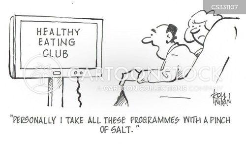 pinch of salt cartoon